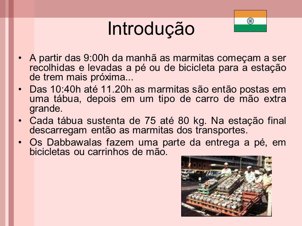 Introdução O que torna os dabbawalas especiais.Sua eficiência.