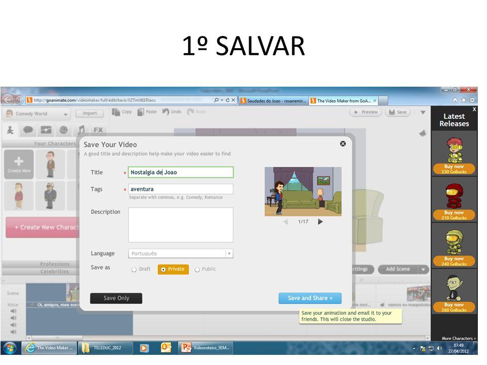 1º SALVAR