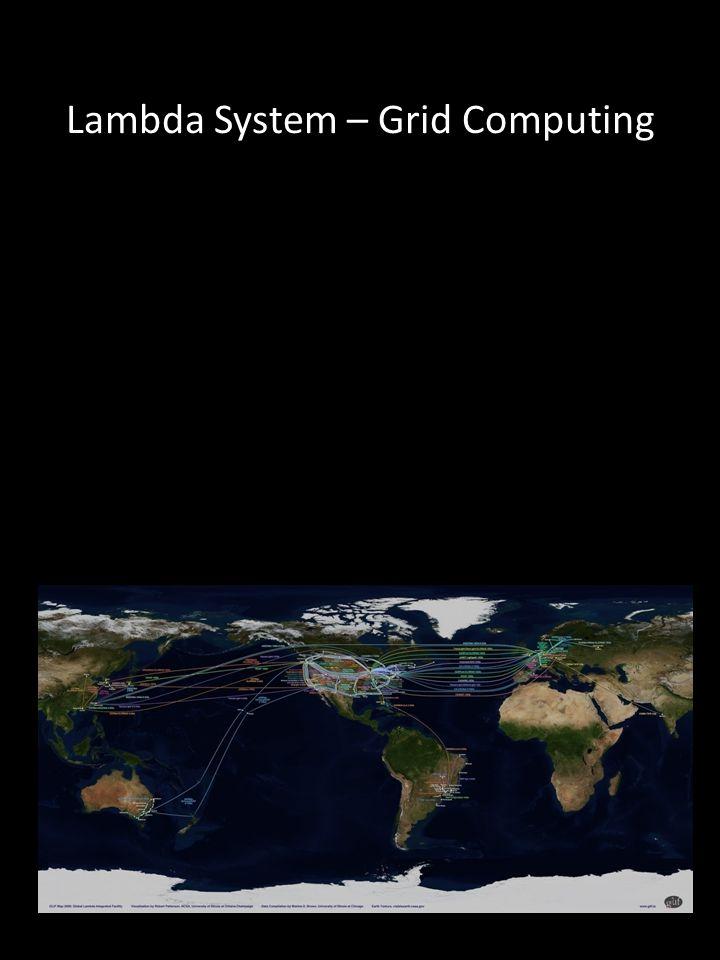 Lambda System – Grid Computing
