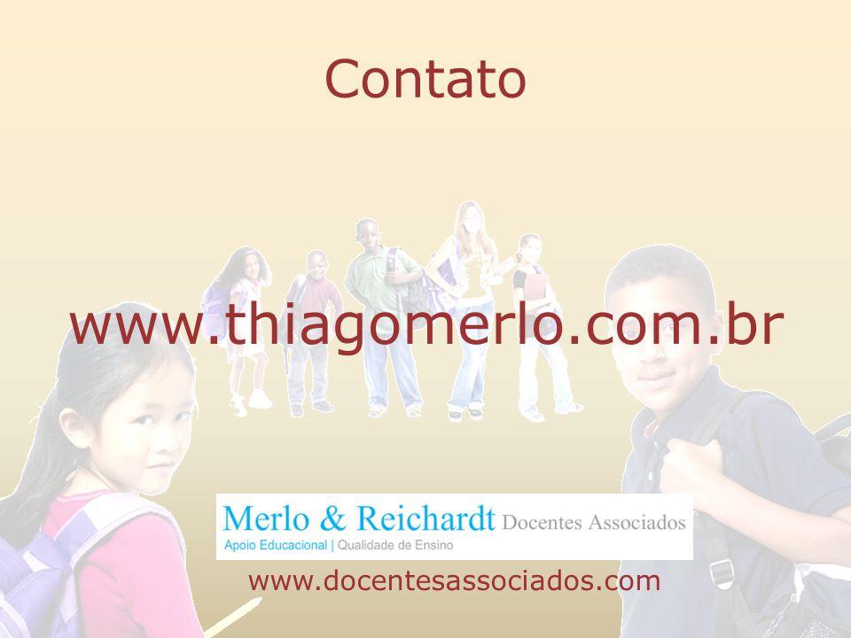 Contato www.thiagomerlo.com.br www.docentesassociados.com