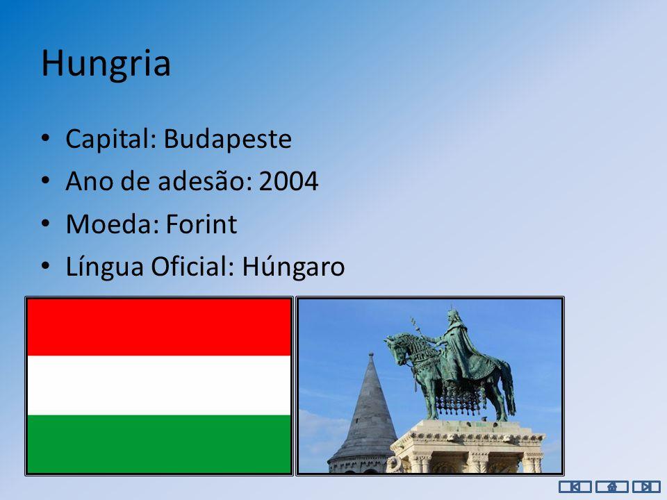 Grécia Capital: Atenas Ano de adesão: 1981 Moeda: Euro Língua Oficial: Grego