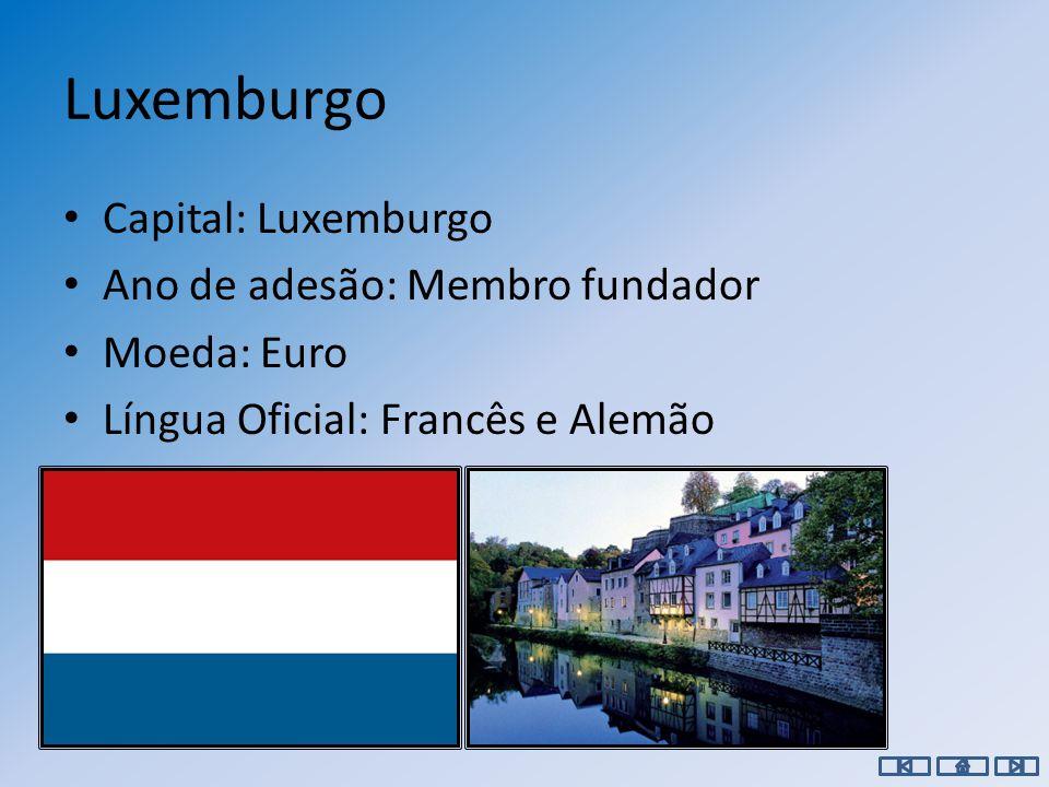 Lituânia Capital: Vilnius Ano de adesão: 2004 Moeda: Litas Língua Oficial: Lituano