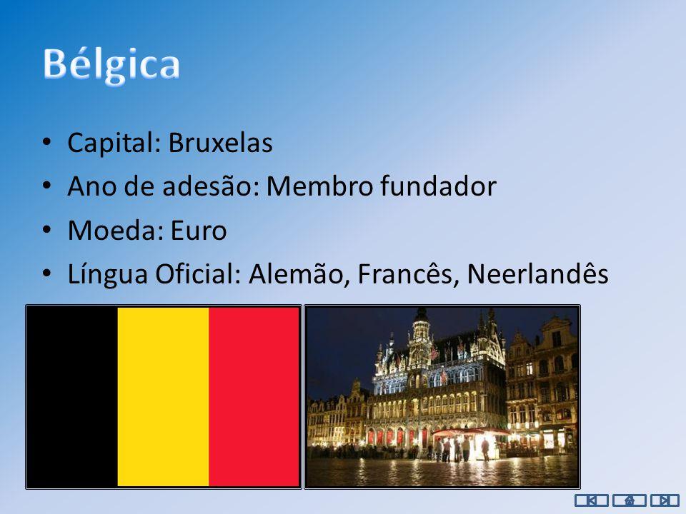 Capital: Viena Ano de adesão: 1995 Moeda: Euro Língua Oficial: Alemão