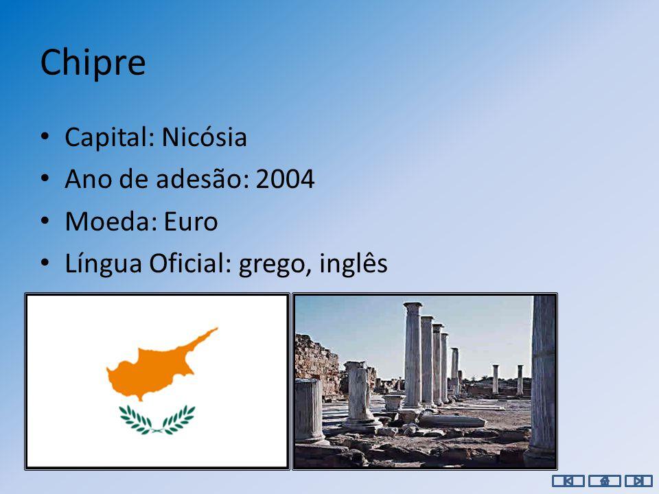 Capital: Sófia Ano de adesão: 2007 Moeda: Lev Língua Oficial: Búlgaro