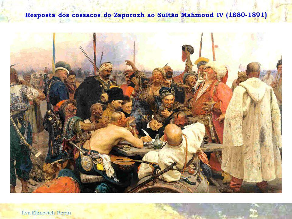 Ilya Efimovich Repin São Nicolau salva 3 Inocentes da Morte (1889)