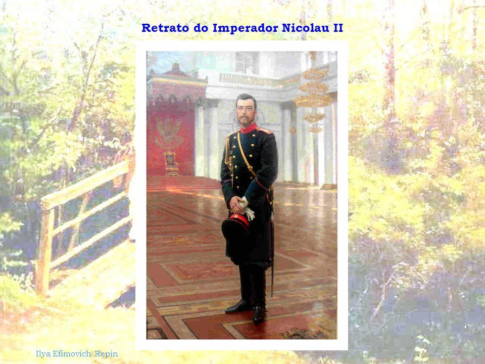 Ilya Efimovich Repin Dois Tsares – Pedro I e Ivan V