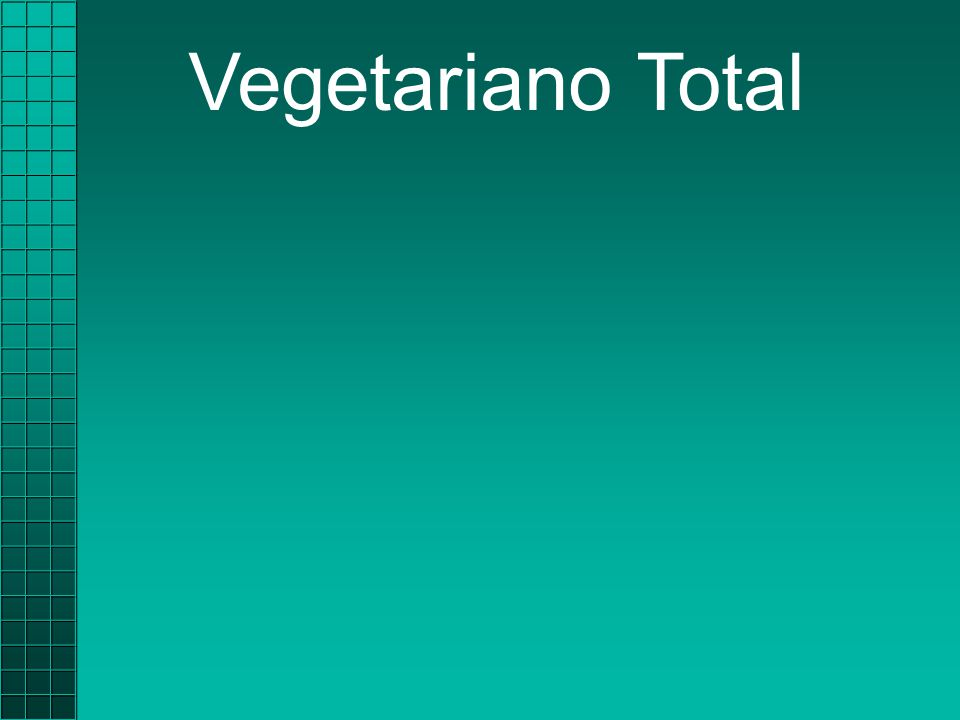 Nenhuma carneNenhuma carne  Frango  Peixe Vegetariano Total