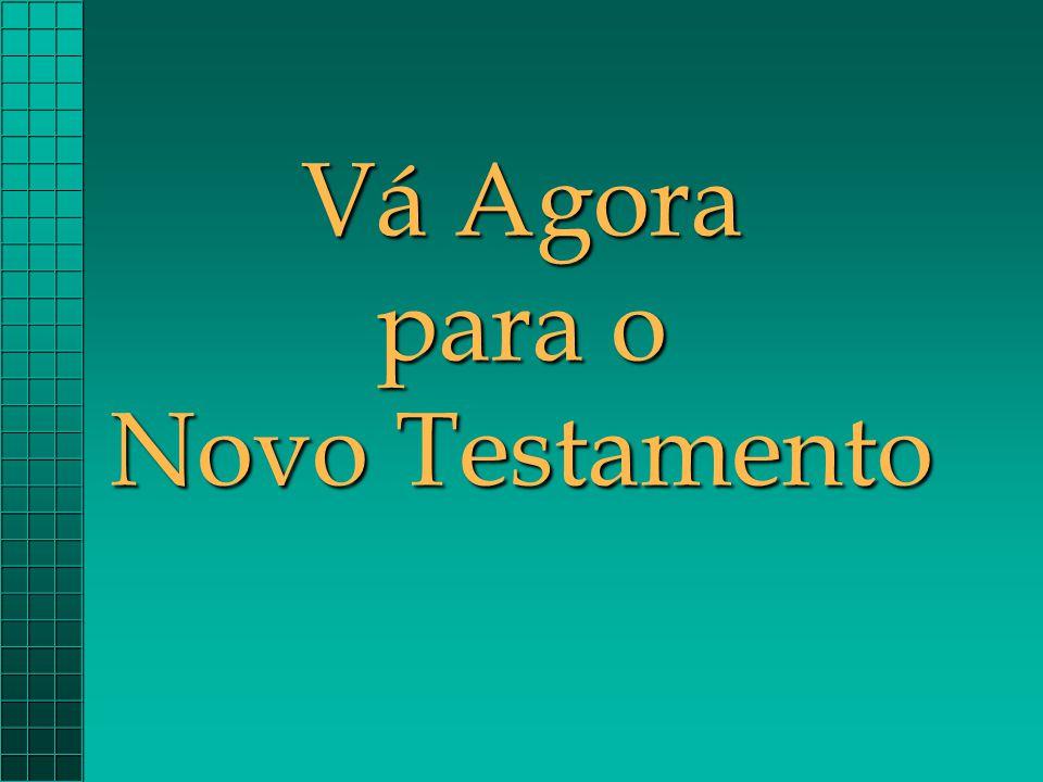 Vá Agora para o Novo Testamento