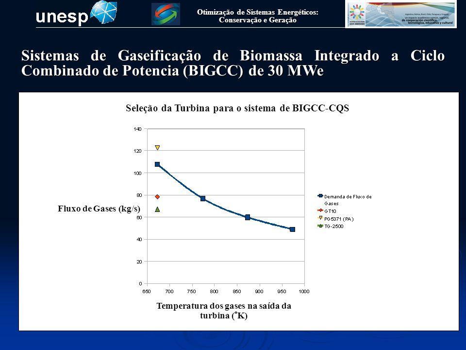 Otimização de Sistemas Energéticos: Conservação e Geração Sistemas de Gaseificação de Biomassa Integrado a Ciclo Combinado de Potencia (BIGCC) de 30 M