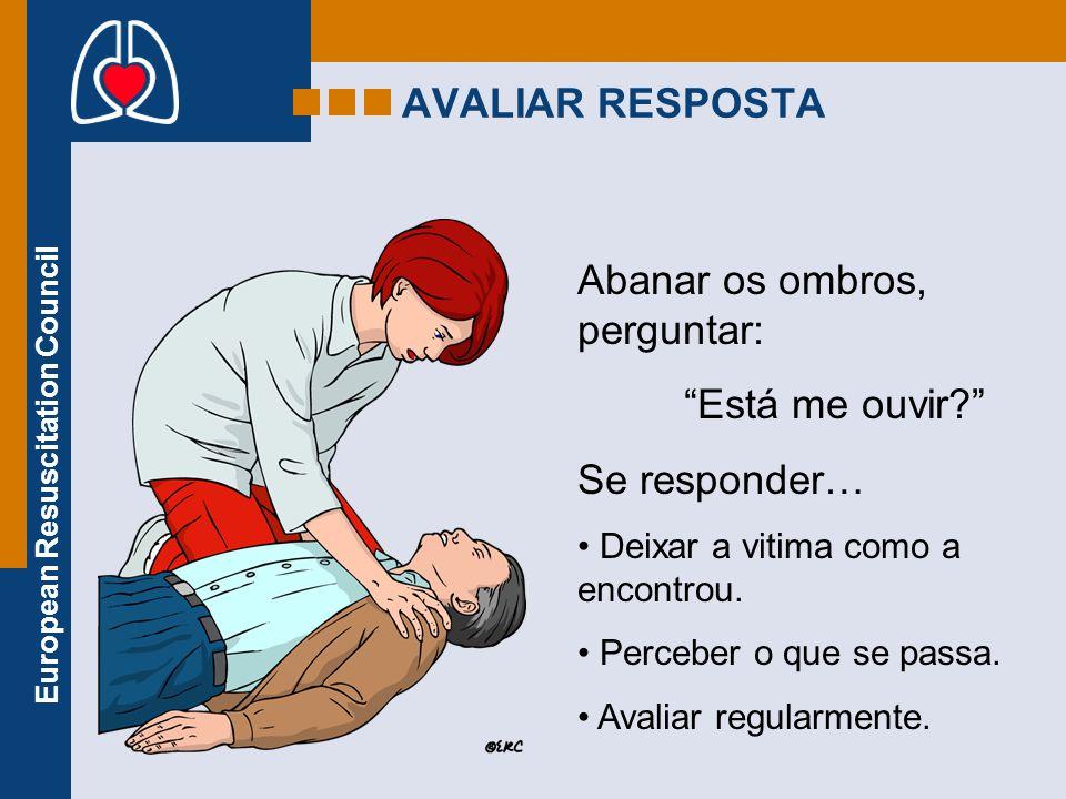 European Resuscitation Council PROCURAR AJUDA Cond.