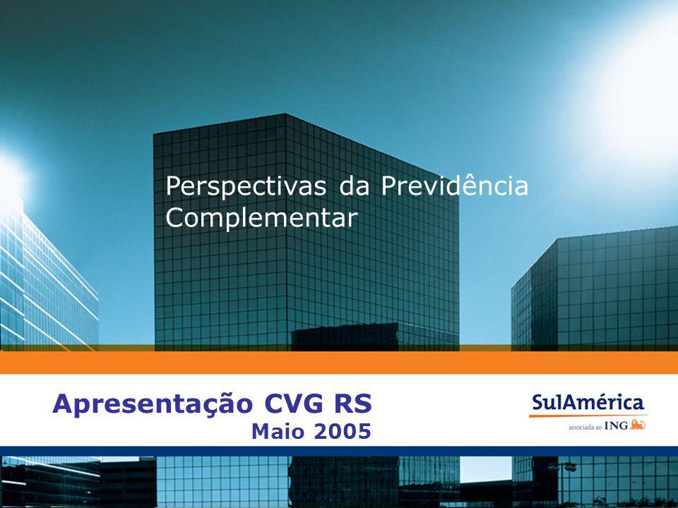 Perspectivas da Previdência Complementar Apresentação CVG RS Maio 2005