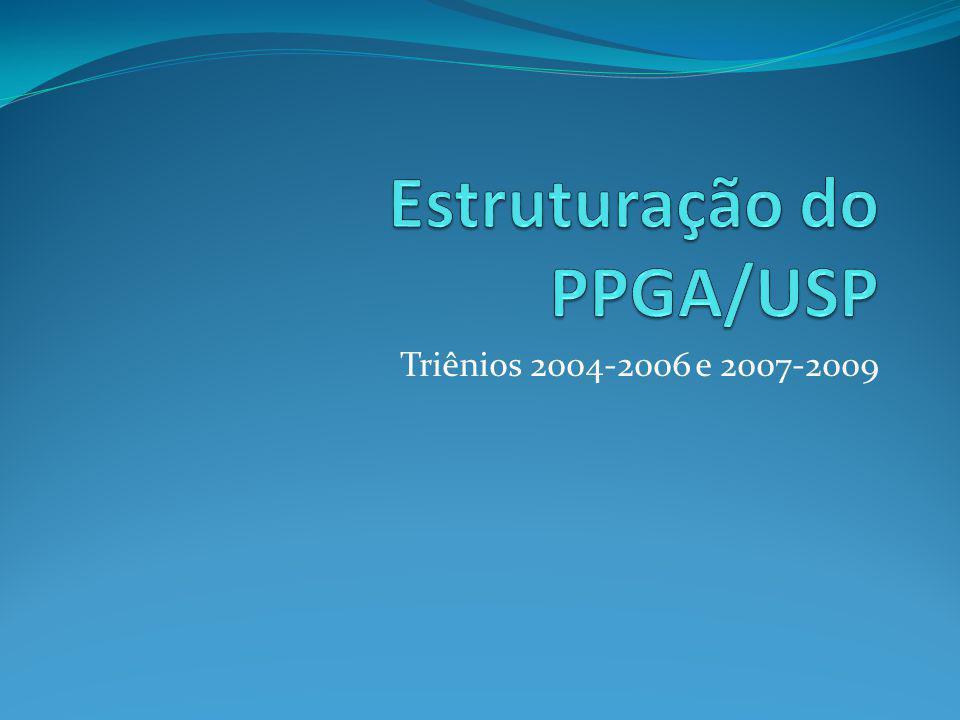 Triênios 2004-2006 e 2007-2009