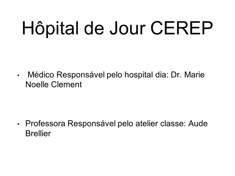 Hôpital de Jour CEREP Médico Responsável pelo hospital dia: Dr.
