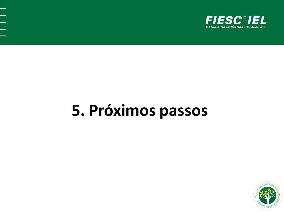5. Próximos passos