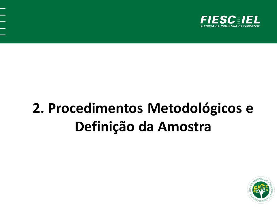 2. Procedimentos Metodológicos e Definição da Amostra