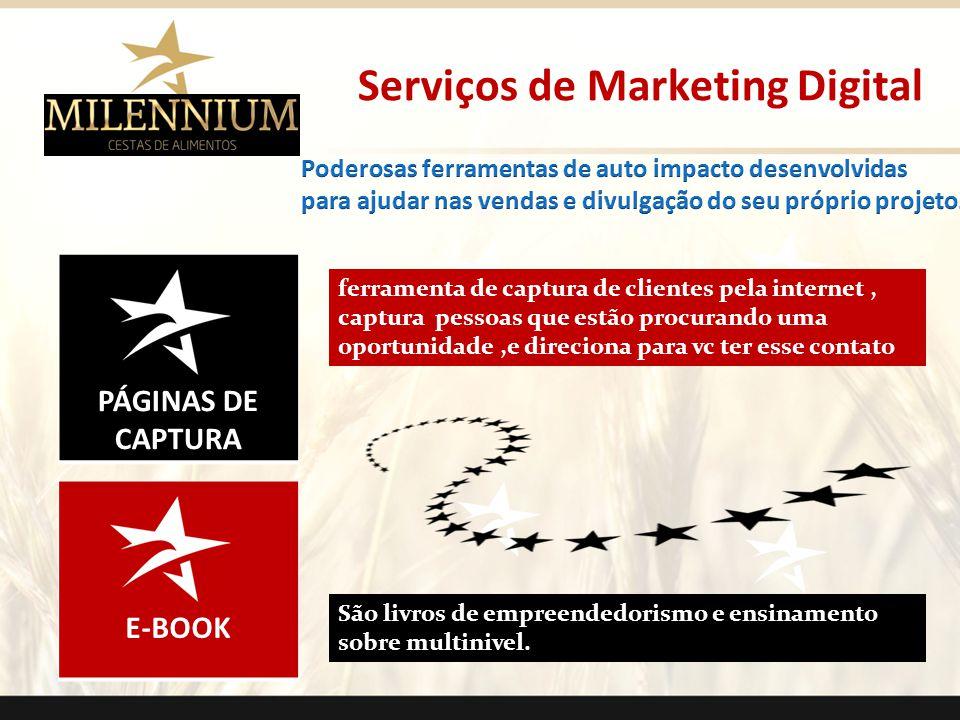 PÁGINAS DE CAPTURA E-BOOK Serviços de Marketing Digital ferramenta de captura de clientes pela internet, captura pessoas que estão procurando uma opor