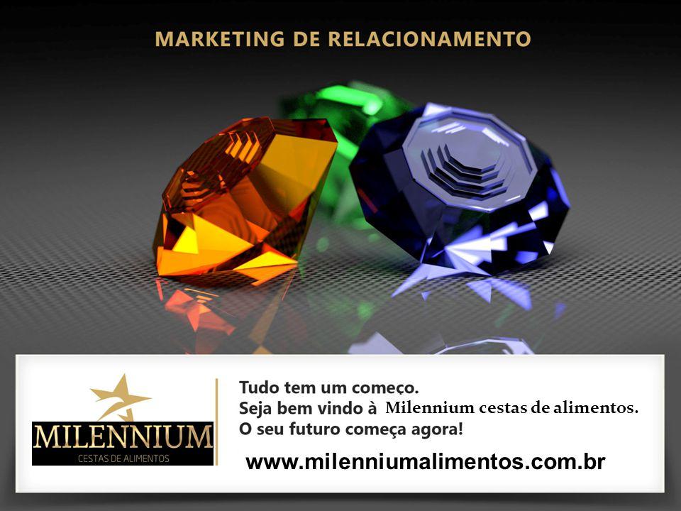 . www.milenniumalimentos.com.br Milennium cestas de alimentos.