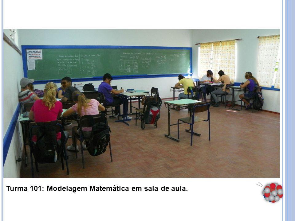 Turma 101: Modelagem Matemática em sala de aula.