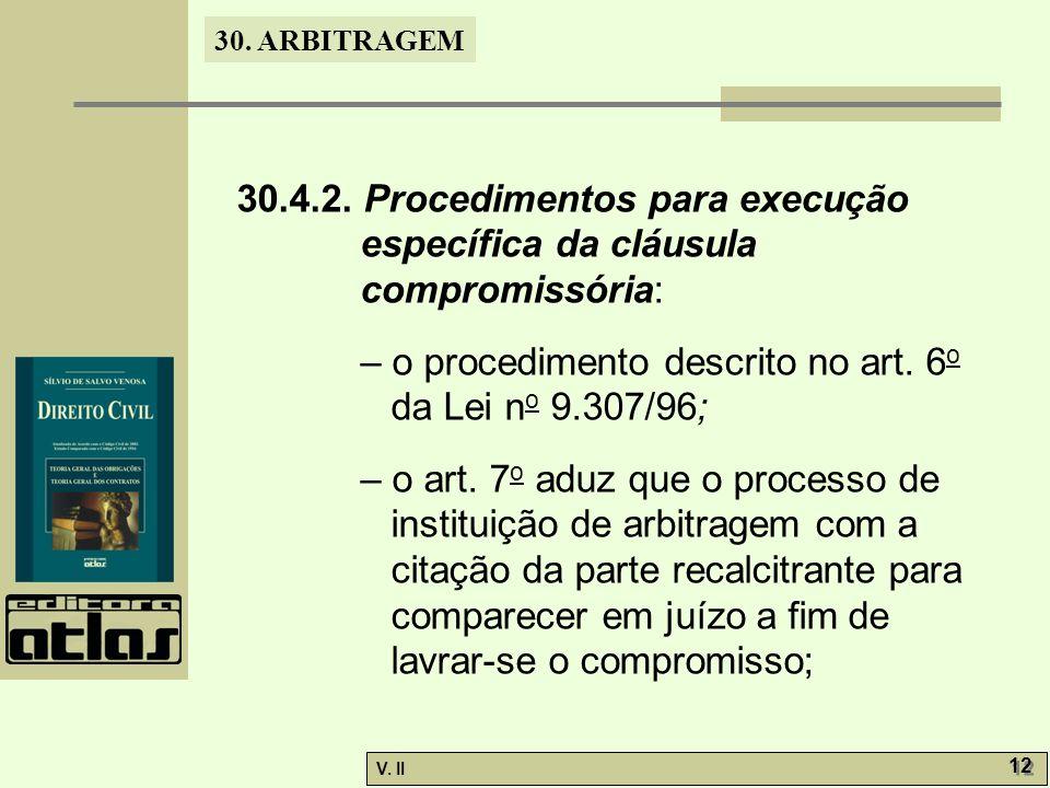 30. ARBITRAGEM V. II 12 30.4.2.