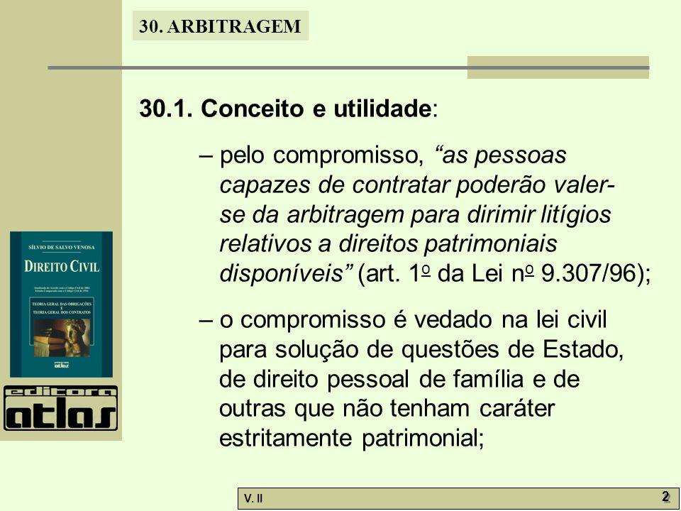 30. ARBITRAGEM V. II 2 2 30.1.
