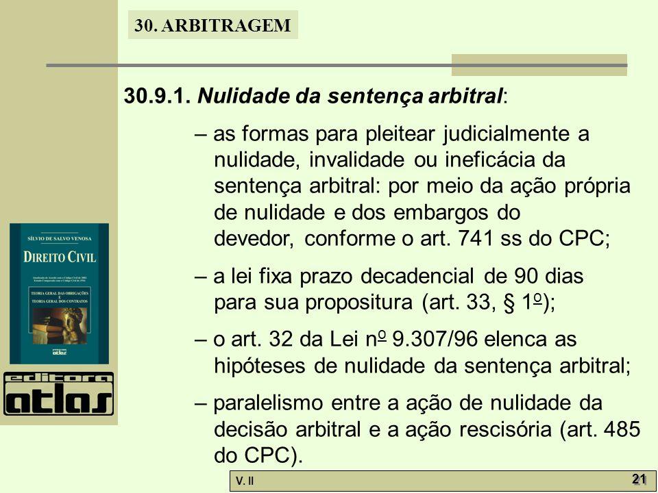30. ARBITRAGEM V. II 21 30.9.1.