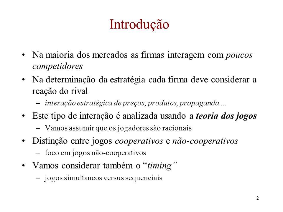 1 Economia Industrial Victor Gomes UnB Estratégia dos Negócios em Mercados de Oligopólio
