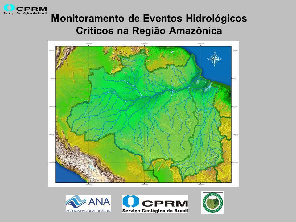 Monitoramento de Eventos Hidrológicos Críticos na Região Amazônica