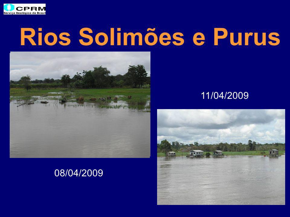 Rios Solimões e Purus 08/04/2009 11/04/2009