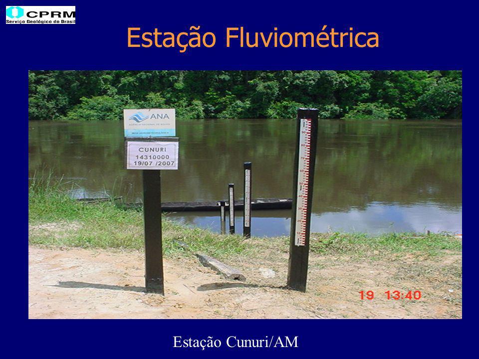 Estação Fluviométrica Estação Cunuri/AM
