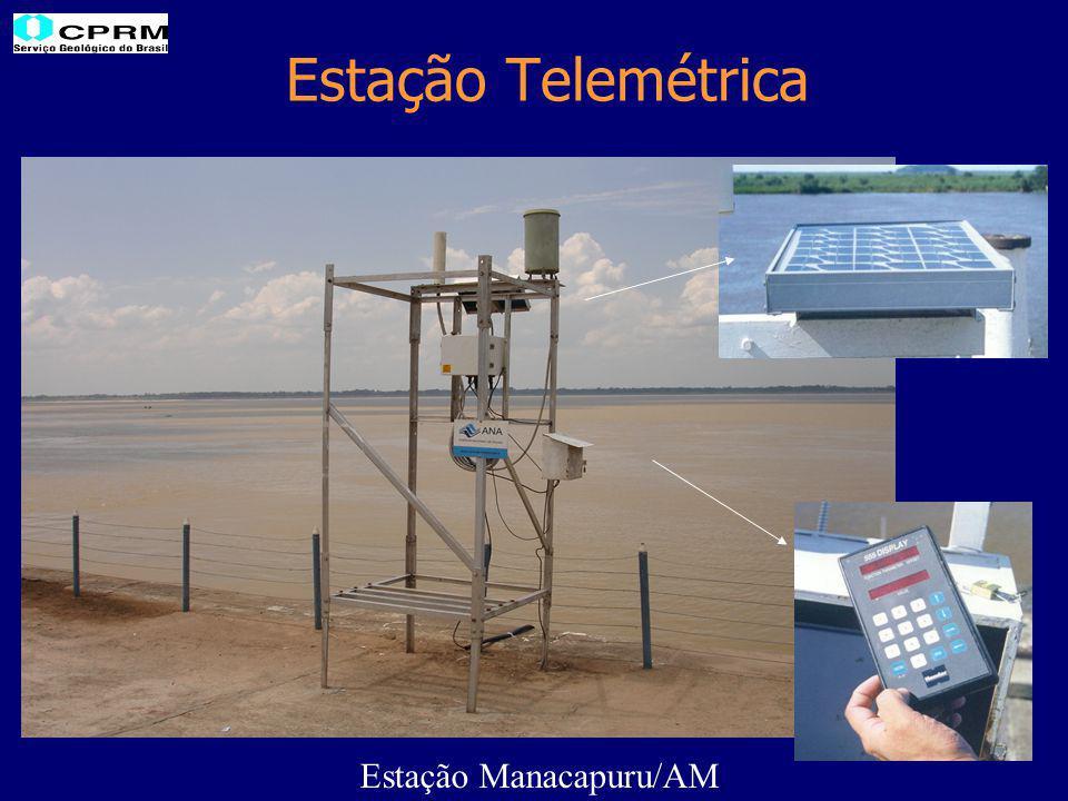Estação Telemétrica Estação Manacapuru/AM
