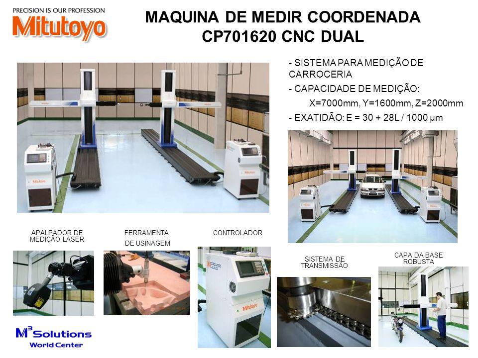 MAQUINA DE MEDIR COORDENADA CP701620 CNC DUAL APALPADOR DE MEDIÇÃO LASER SISTEMA DE TRANSMISSÃO CONTROLADORFERRAMENTA DE USINAGEM - SISTEMA PARA MEDIÇ