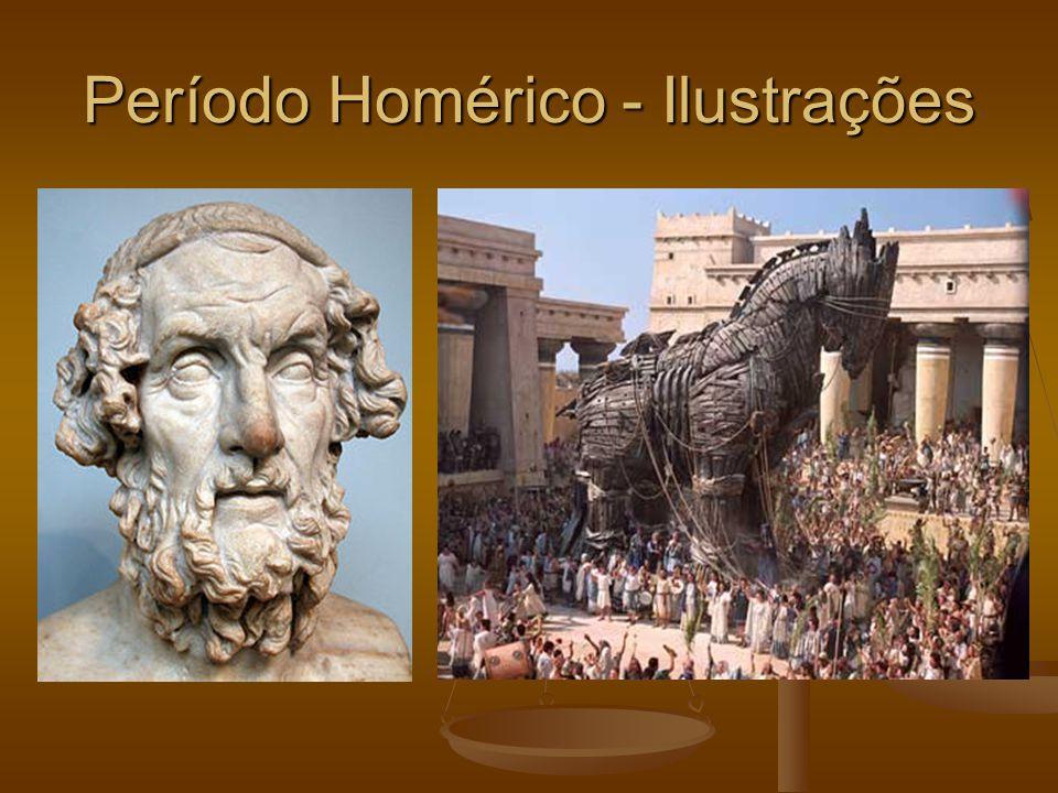 Período Homérico - Ilustrações