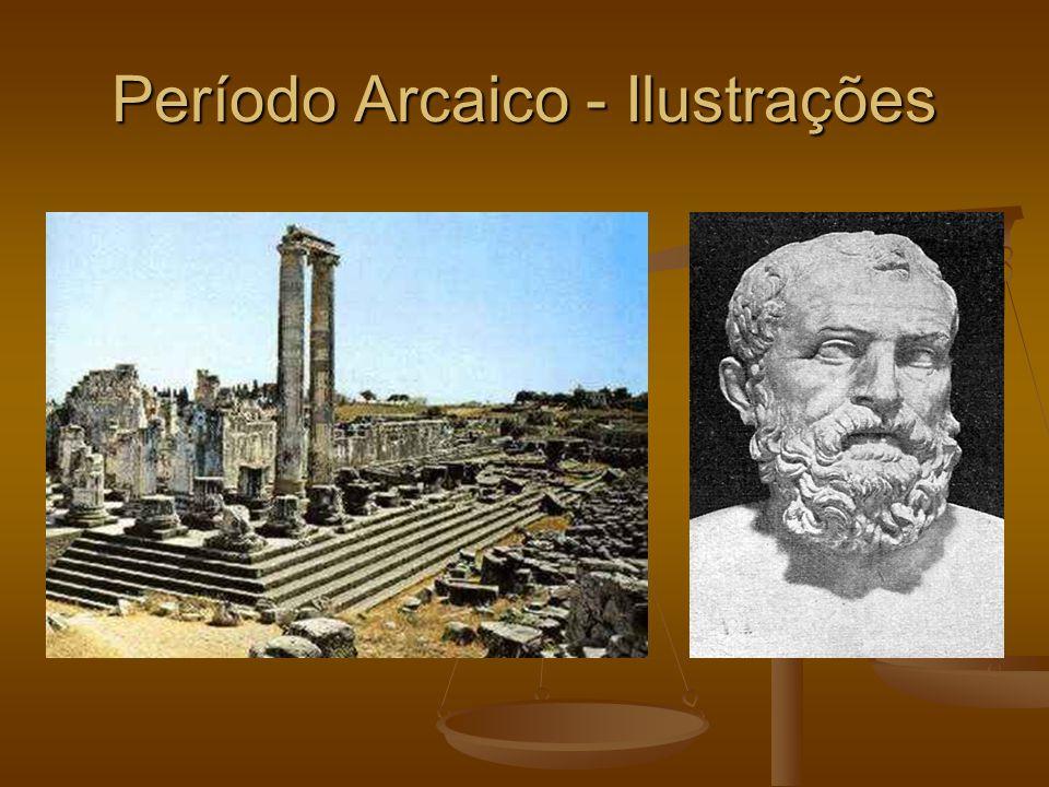 Período Arcaico - Ilustrações