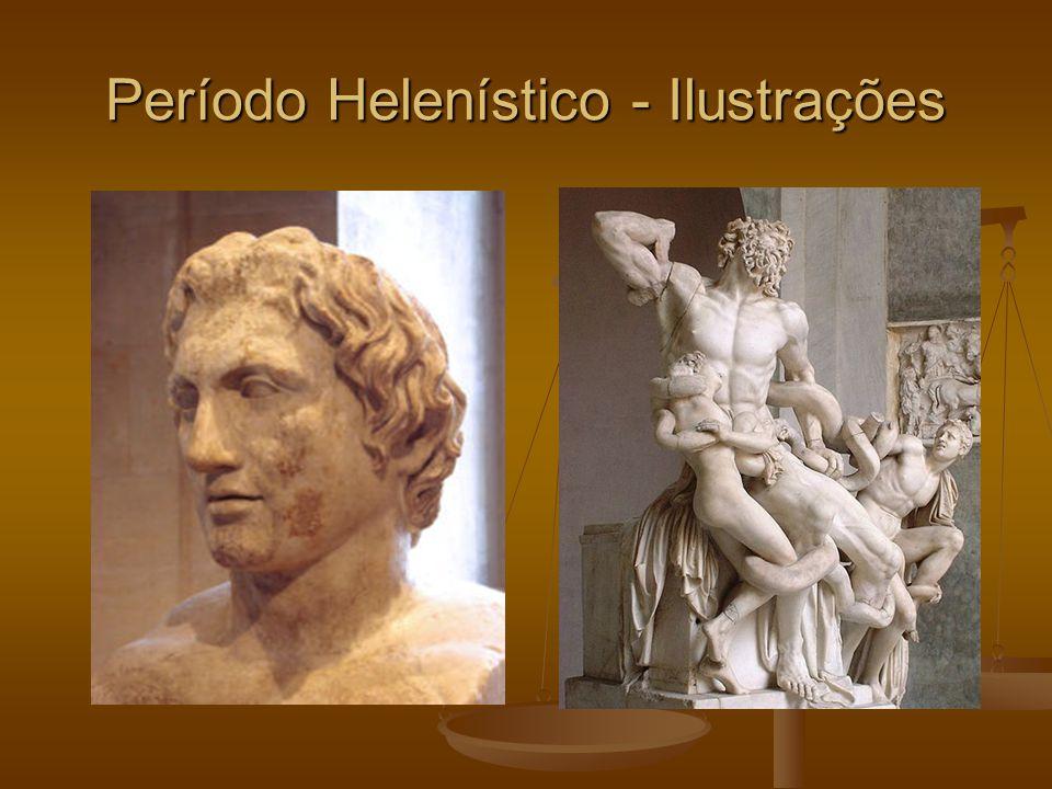 Período Helenístico - Ilustrações