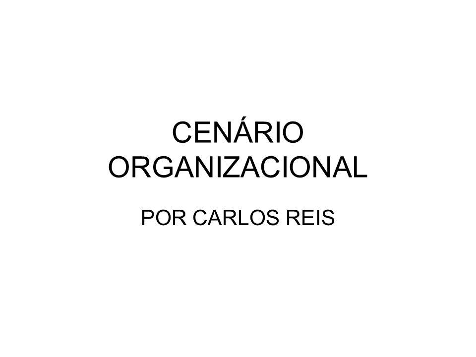 CENÁRIO ORGANIZACIONAL POR CARLOS REIS