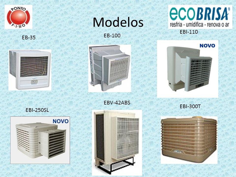Modelos EB-35 EB-100 EBI-110 EBI-250SL EBV-42ABS EBI-300T