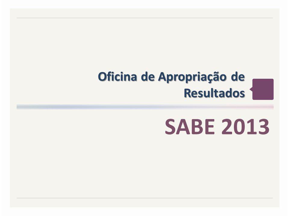 Oficina de Apropriação de Resultados SABE 2013