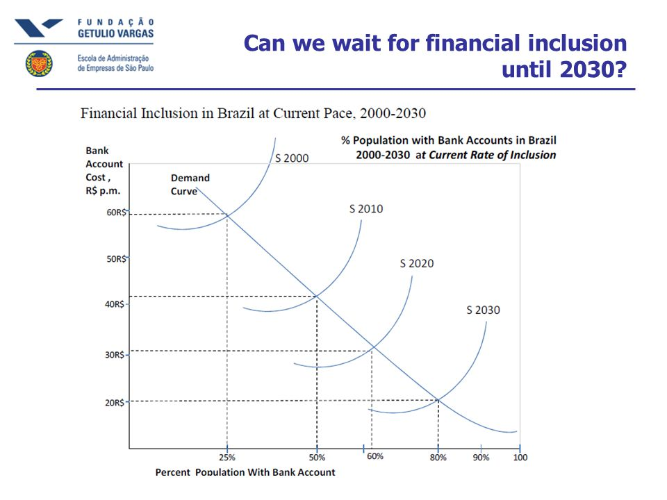 Can we wait for financial inclusion until 2030?
