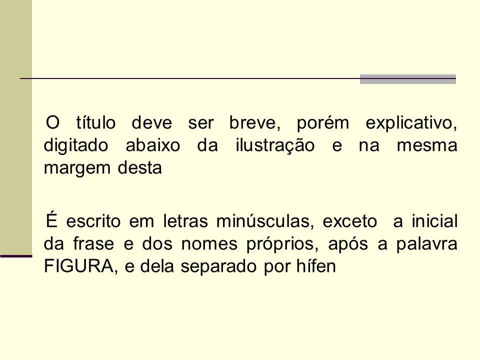 Exemplo FIGURA 49 - Ordenação alfabética dos títulos dos trabalhos científicos