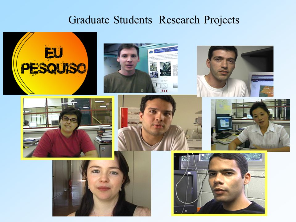 Graduate Students Research Projects