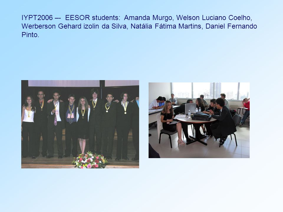 Participation of teachers from EESOR in National Education Meetings