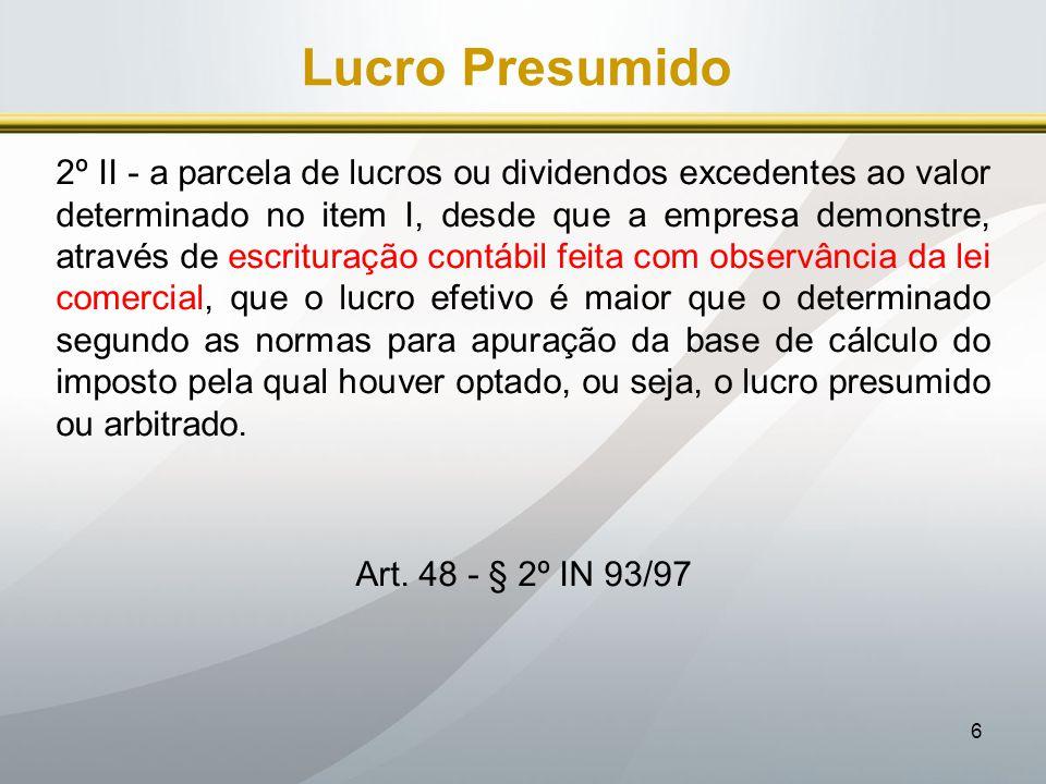 17 Ajuste a Valor Presente Fonte: Prof.Jorge Vieira Art.