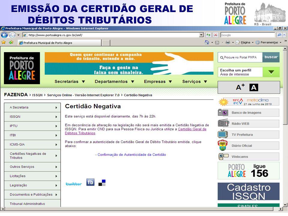 CADASTRO PRESTADORES SERVIÇOS OUTROS MUNICÍPIOS - CPOM Art.