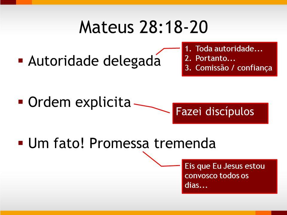 A principal obra da igreja Ser e fazer discípulos Ser e fazer discípulos