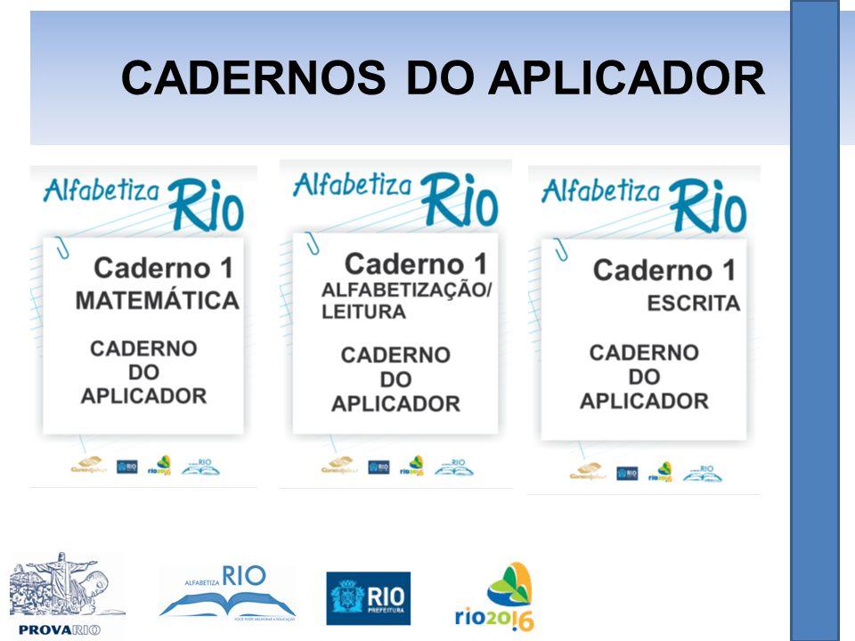 CADERNOS DO APLICADOR