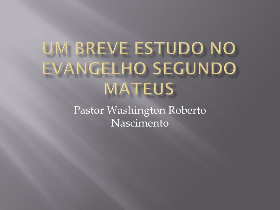 Pastor Washington Roberto Nascimento