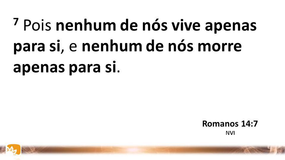 6 Aquele que come carne, come para o Senhor, pois dá graças a Deus; e aquele que se abstém, para o Senhor se abstém, e dá graças a Deus. Romanos 14:6