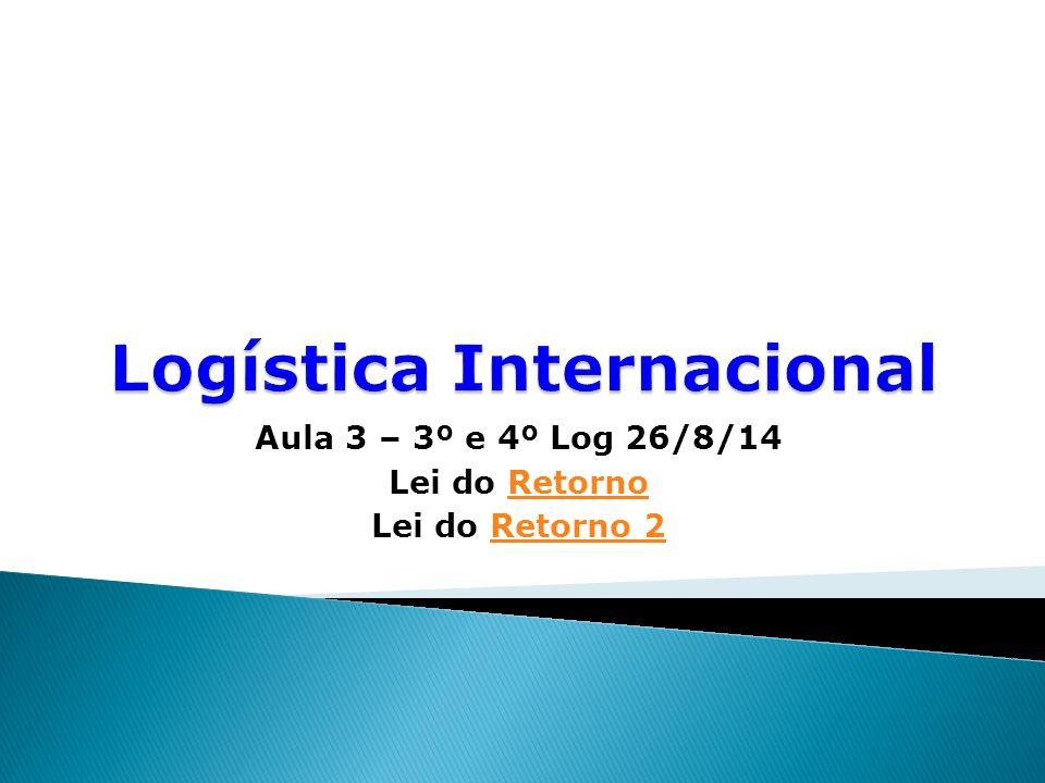  Importante que o profissional de Logística entenda as responsabilidades da área e suas interações com demais áreas e funções.