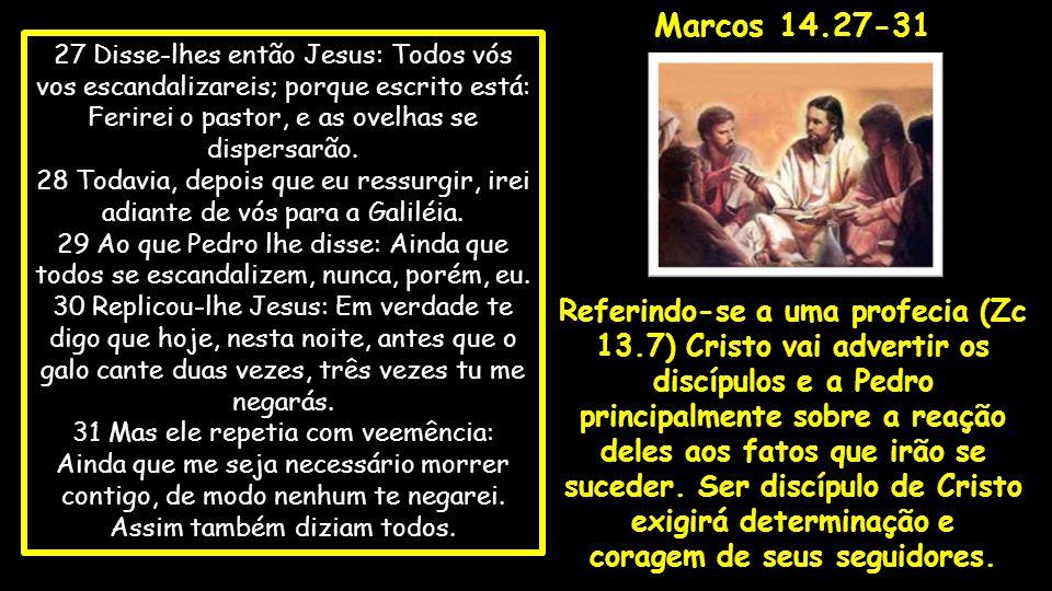 32 Então chegaram a um lugar chamado Getsêmani, e disse Jesus a seus discípulos: Sentai-vos aqui, enquanto eu oro.