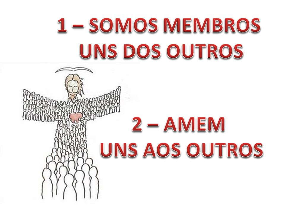 AMEM UNS AOS OUTROS COM AMOR DE IRMÃOS EM CRISTO E SE ESFORCEM PARA TRATAR UNS AOS OUTROS COM RESPEITO. Romanos 12.10 NTLH ...